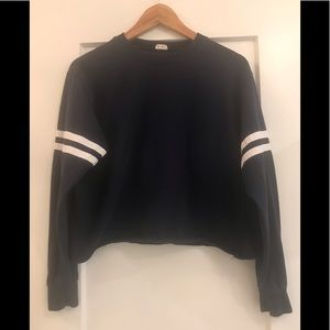John Galt dark blue sweatshirt/ long sleeve